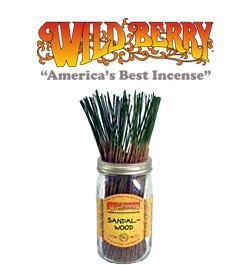 Sandalwood Incense Sticks by Wild Berry Incense