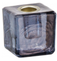 Mini Ritual Candle Holder - Black
