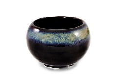 Ceramic Japanese Handthrown Bowl - Mountain Mist