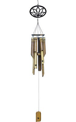 Wind Chimes - Lotus Bamboo Wind Chime