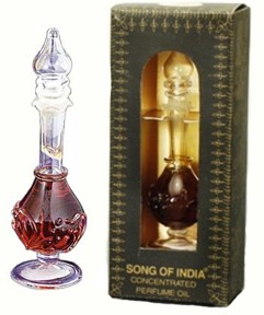 Song Of India Fancy Glass Perfume Bottle - Aphrodesia