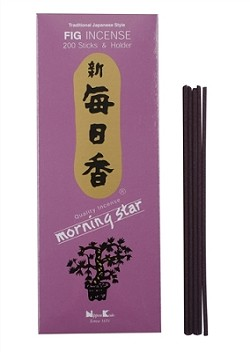 Morning Star Incense - Fig Incense 200 Stick Box