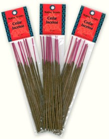Native Scents Incense - Cedar Incense