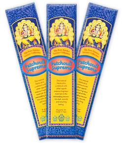 The Rare Essence Incense Collection - Patchouli Supreme Incense