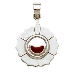 Sterling Silver Chakra Pendant - Sacral