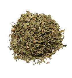 Spearmint Leaf (domestic), Cut & Sifted